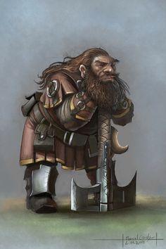 practise5 Dwarf by MarschelArts.deviantart.com on @deviantART