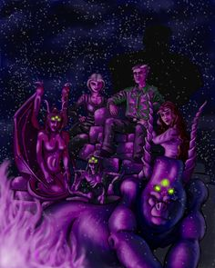 Nickelheads, by gaelvin on deviantart.  Dresden Files fan art.