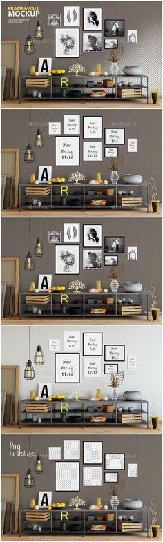 Interior Design Mockup · Frame u0026&; Wall Mockup 06 u2014 Photoshop PSD #frame mockup #background u2022 Available & 422 Best Interior Design Mockup images | Product mockup Business ...