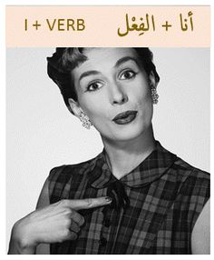 Present Tense in Arabic: For first person أنا=I