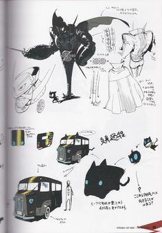 Morgana (van) concept art