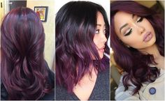 Looking for a deeper, darker hair color this winter? Maybe this is finally your season to experiment with plum hair.