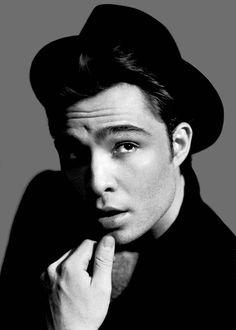Ed Westwick. aka Chuck Bass one of my favorite bad boys! Blair Waldorf, Chuck Bass Ed Westwick, Gorgeous Men, Beautiful People, Beautiful Beautiful, Absolutely Gorgeous, Pretty People, I'm Chuck Bass, Love Magazine