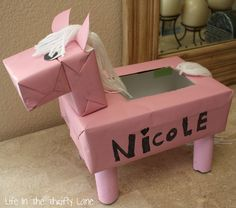 Life In The Thrifty Lane: Horse Valentines Box
