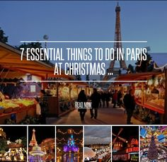 7 Essential things to do in Paris at Christmas Time