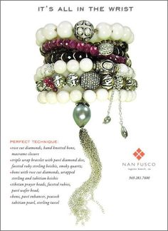 Diamonds and Keishis and Rubies, oh my!  Nan Fusco's amazing creations!
