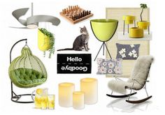 The Modern Front Porch (Great website-full of mood boards and where to purchase the products)