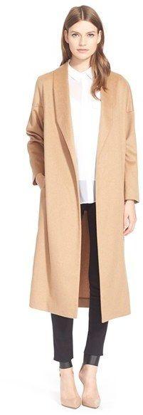 Camel Hair Maxi Coat