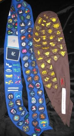 Dilemmas: What to do when a badge sash is full | Brownie Meeting Ideas