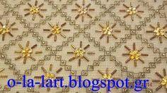 κεντηματα ile ilgili görsel sonucu Hand Embroidery Designs, Embroidery Patterns, Cross Stitch Embroidery, Blouse Designs, Needlepoint, Needlework, Diy And Crafts, Jewelry Necklaces, Brooch