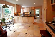 Triple wide mobile home kitchen remodel