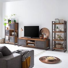 Quel meuble tv indus