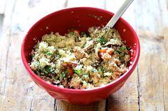 As Minhas Receitas: Salada de Couscous com Vegetais e Atum
