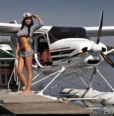 Coyotak Pictures - aircraft at Hradec Králové photo Civil Aviation, Flight Attendant, Float Plane, Sea Plane, Pin Up, Amphibious Aircraft, Flying Boat, Nose Art, Beauty