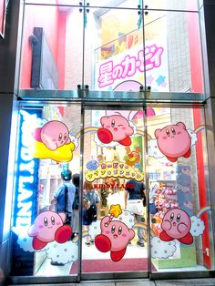 tokyo-fashion: Kirby popup shop at Kiddyland... Super Mario Bros & Nintendo friends