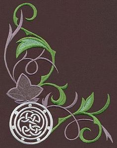 leaves   Urban Threads: Unique and Awesome Embroidery Designs