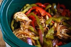 Crock Pot Chicken Fajita!