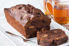 Crunchy chocolade cake