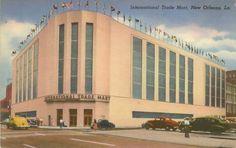 New Orleans, Louisiana International Trade Mart 1930's - 1940's