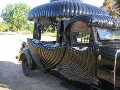 Gothic Wedding Transport!