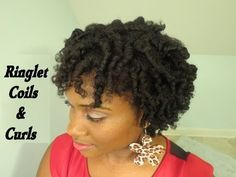 {106} Frizz Free Coils & Curls Tutorial on 4c Natural Hair (Perm Rod Set)