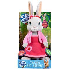 Buy Beatrix Potter Lily Bobtail Talking Soft Toy Online at johnlewis.com