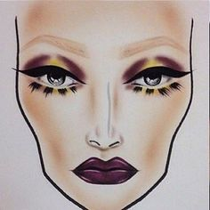 Ideas For Makeup Face Charts Beauty Makeup Goals, Makeup Inspo, Makeup Inspiration, Makeup Tips, Beauty Makeup, Makeup Ideas, Drugstore Beauty, Mac Face Charts, Makeup Face Charts