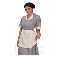 Junior Cord Housekeeping Dress
