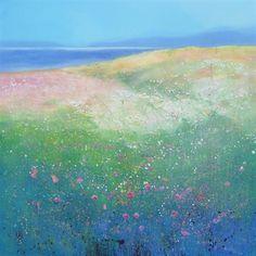 Coastal Life  90 x 90 cm Oil on canvas  £1800.00  SOLD