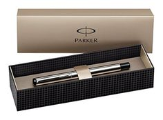 Parker Vector Stainless Steel Fountain Pen Fine Nib