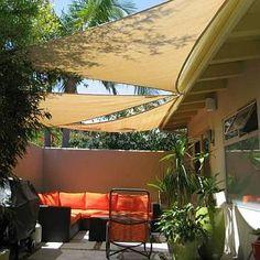 21 best patio sails images in 2019 backyard shade backyard canopy rh pinterest com