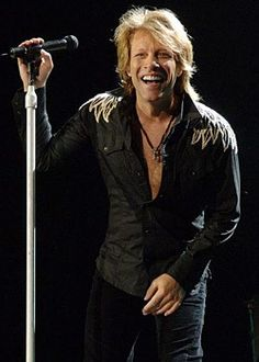 Jon Bon Jovi - Click image to find more People Pinterest pins
