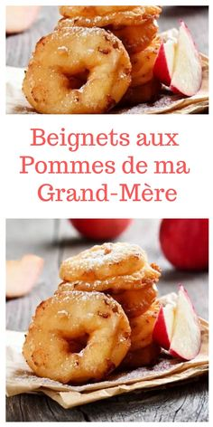 Recipe: My Grandmother& Apple Fritters - My Grandmother& Apple Donut Recipe # apple donut - Apple Donut Recipe, Donut Recipes, Easy Cake Recipes, Apple Recipes, Dessert Recipes, Beignets, Chocolate Tea Cake, Best Chocolate Chip Cookies Recipe, Tea Cake Cookies
