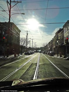 Richmond Avenue, Philadelphia, pre-trolly-track removal.