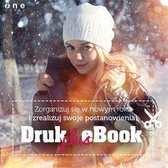Od 8 do 11 stycznia zapraszamy do skorzystania z promocji DRUK+EBOOK.  #onepress #promocja #drukplusebook #ksiazka #ebook