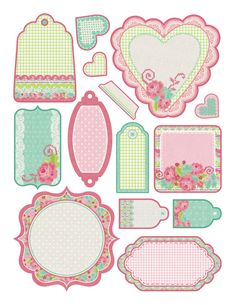 Printable Labels, Printable Paper, Free Printables, Labels Free, Vintage Tags, Vintage Labels, Journal Cards, Planner Stickers, Scrapbook Paper