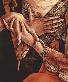 Pièta (detail), Carlo Crivelli, ca. 1493