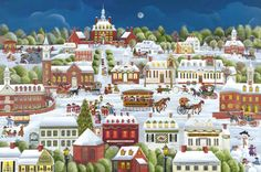 Stave Puzzles: Christmas in Williamsburg (Traditional)