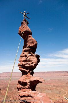 Desert tower, Utah