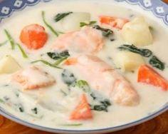 Mijoté de saumon à la crème légère façon blanquette : http://www.fourchette-et-bikini.fr/recettes/recettes-minceur/mijote-de-saumon-a-la-creme-legere-facon-blanquette.html