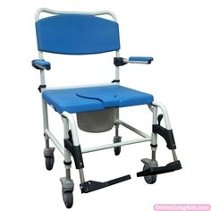 Drive Medical - nrs185008 - Aluminum Bariatric Rehab Shower Commode Chair with Two Rear-Locking  sc 1 st  Pinterest & Sammons Preston - 567007 - Bathmaster Sonaris Reclining Bath Lift ... islam-shia.org