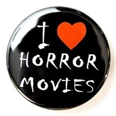 Horror Movies Pinback Button
