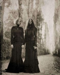 Victorian Mourning style.