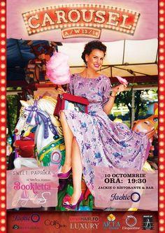 Bookletta event in Bucharest, 10 octombrie ora 19:30, Jackie O Ristorante !
