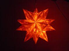 Bastel - Michaela´s kreative Unikate: Bascettas Origami Stern - 3D Stern aus Papier