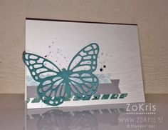 Stampin' Up! - Butterfly Basics, Butterfly Thinlits Dies, Sale-A-Bration 2015 - ZoKris + movie