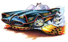 Madd Dogg's Muscle Car Art | Some cool cartoon cars