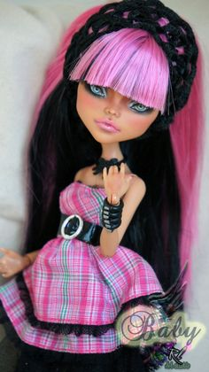 Monster High Cleo de Nile repaint #5 ~Baby~ by RogueLively.deviantart.com on @deviantART