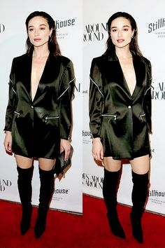 Crystal Reed attending the What Goes Around Comes Around Opening Event in Beverly Hills, California on Thursday, October 13 2016