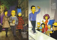 Harper's Bazaar August 2007 http://www.harpersbazaar.com/fashion/fashion-articles/the-simpsons-fashion-photo-shoot-1009#slide-1